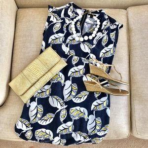 Dresses & Skirts - JCrew linen blend dress XS